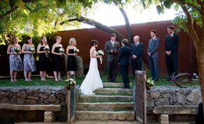Wedding Ceremony in Lodi, California