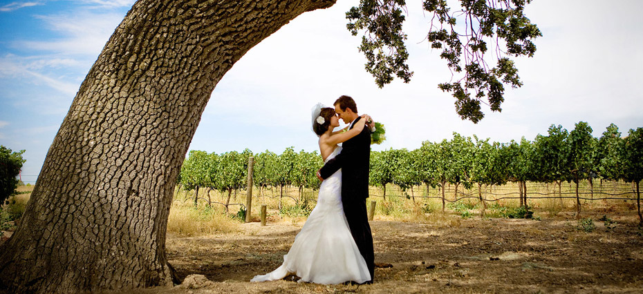 Wedding photography throughout California.