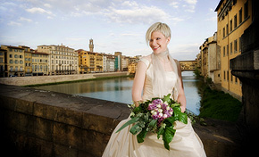 Bridal Portrait in Firenze