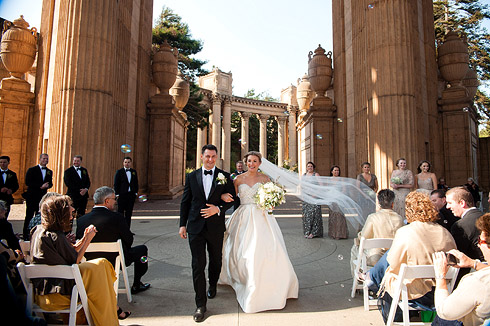 Palace of Fine Arts Wedding by Debra A. Zeller